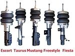 FBX-F-FOR-17 1998-2003 Ford Escort ZX2 Coupe Front Air Suspension ride kit