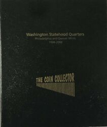The Coin Collector Album Statehood Quarters Pandd 1999-2008 Us Not Dansco Free Sandh