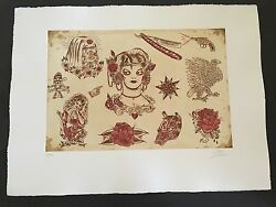 Dr. Lakra - Mod. 2 - Rare Hand Signed And Numbered Original Etching Made In 2008