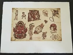 Dr. Lakra - Mod. 6 - Rare Hand Signed And Numbered Original Etching Made In 2008
