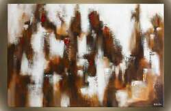 Victor Zag - Big City Lights - Abstract Painting - Giclee Reproduction 30x60