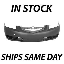 New Primered - Front Bumper Cover Fascia Replacement For 2004-2006 Acura Tl