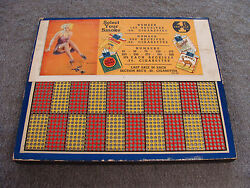 Vintage Punch Board Select Your Smoke 1 Cent Illegal Gambling Serial 748