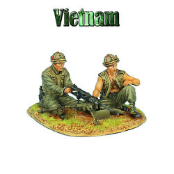 First Legion Vn018 Us 25th Infantry Division Browning M2 Mg Team