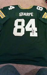 Sterling Sharpe Green Bay Packers Signed Jersey Nfl South Carolina