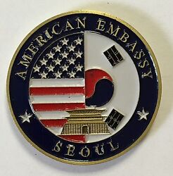 United States American Embassy Seoul South Korea Coin 2