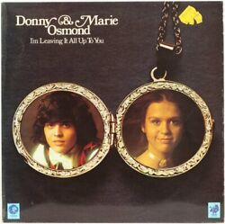 I'm Leaving It All Up To You  Donny And Marie Osmond Vinyl Record
