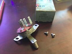 1959 Buick Nos Heater Blower Switch Gm Part 1191213 Rare Option One Year Only