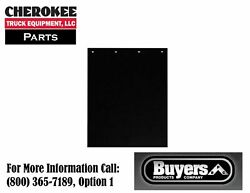 Buyers Products Bsgd2436 Multi-material Composite Black Mudflaps 24x36