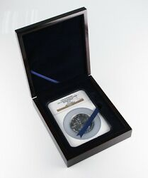 2013 25th Anniversary Canadian 5 Oz .9999 Silver Maple Leaf S50 Reverse Pf-70