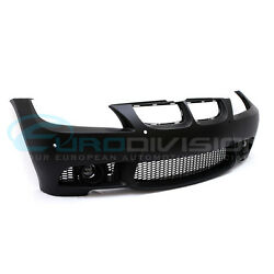 BMW 3 Series E90 Pre-LCI Sedan M3 Style Front Bumper-With Headlight Washers