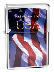 Lighter Package Premier Flag With 1 Ronson 5 Ounce Fuel 6 Flints And 1 Wick