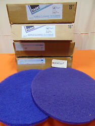 Taski And Johnson Diversey 19 Purple Cleaning Pads - 20 Total
