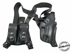 Shoulder Holster With Double Mag Pouch For Springfield Xd45 4 , Myholster