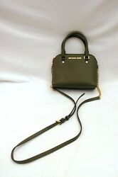 NWT Michael Kors Cindy Saffiano Leather XSmall Top Handle Crossbody Olive
