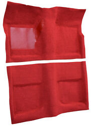 Mustang Carpet Bright Red 1965 1966 1967 1968 65 66 67 68 Coupe Acc 80/20 Mix