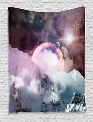 Planets Outer Space Tapestry Wall Hanging for Living Room Bedroom Dorm Decor