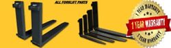 Forklift Truck Forks Pair 2.5 X 6 X 72 Class 4 Iv 72 Inch 20 K Capacity 6 Ft