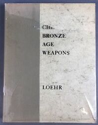 Chinese Bronze Age Weapons Werner Jannings Collection Max Loehr Antique 1956