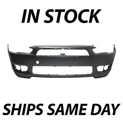 New Primered Front Bumper Cover Fascia For 2008-2015 Mitsubishi Lancer Gts And Se