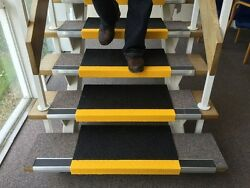 Eli-safe Step Covers Grp Virtually Indestructible Anti-slip Tread And Nosing