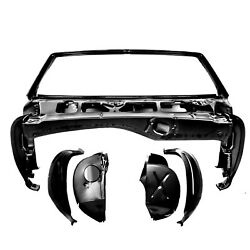 1968 Camaro Convertible Windshield Frame And Cowl Shoulder Assembly Right And Left