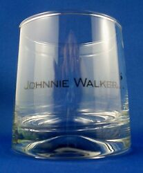 Johnnie Walker Black Label Crystal Glass Vg Man Cave Collectable - In Australia