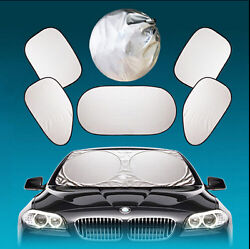 Car Windshield Curtai Sun Shade Heat Block Screen Ray Folding Cover For BMW $16.80