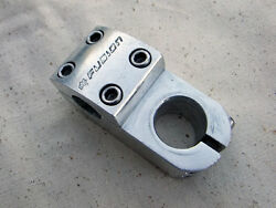 Fusion Old School 1 1/8 Threadless Stem For Bmx And Freestyle Bikes Silver