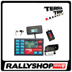 Terratrip Set 303 Geotrip Gps V4 + Remote Display And Control + Dashboard + Probes