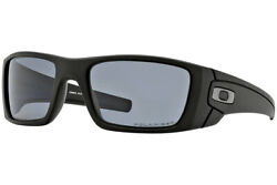 Sunglasses Fuel Cell Polished/matte Black W/00 Grey Polarized Oo9096-21