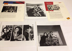 Party Of Five Promo- Photo Lot / Fox Tv Program Sheets And Glossy Promo Photos
