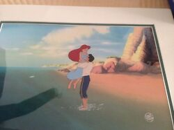 Disney's Little Mermaid Ariel & Eric Production cell at the end of the MOVIE!