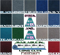 Marine Outdoor Boat Carpet/16 Oz/15 Colors/ 16and039 X 8and0396