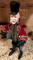 Polar Express Conductor Ornament 14 Christmas Figure Tree Scrooge