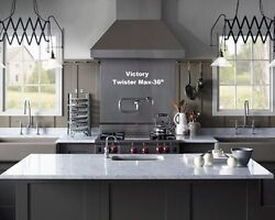 Professional Range Hood 36 With Mechanical Switches. Watch Video