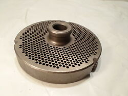 Lightly Used Speco 400 1/8 Th Holes Meat Grinder Plate Part No. 106298