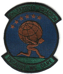 No.10 Services Squadron Usaf Air Force Military Embroidered Patch