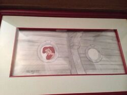 Disneyand039s Little Mermaid Ariel Cell And Production Layout Drawing