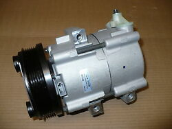 New A/c Ac Compressor With Clutch For 2003-2004 Ford Focus With 2.3l Engines