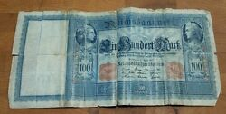 Germany Imperial Bank Note - 100 Mark 1910