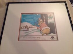 The Grinch & Max Storyboard Signed by Chuck Jones