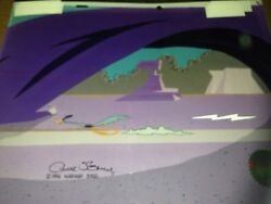Road Runner From Chariots Of Fur Signed By Chuck Jones