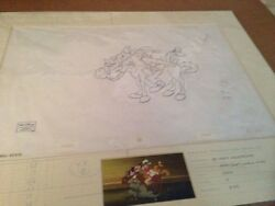 Disney's Three Musketeers Mickey Mouse, Donald Duck Goofy Pluto Product Drawing
