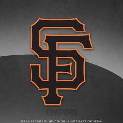 San Francisco Giants Logo Vinyl Decal Sticker Mlb - 4 And Larger Sizes - Glossy