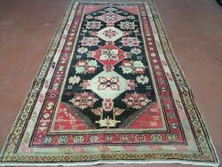 5and039 X 9and039 Antique Karabagh Caucasian Rug Hand Made Wool Carpet Organic Dyes Nice