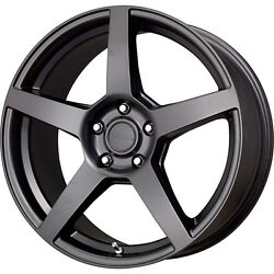 18 Black Wheels Rims And Winter Snow Tire Package Dodge Charger Challenger Rwd