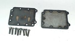 Scott Atwater 3765 497-1897 Intake Manifold 497-1898 Cover Plate 1956 5hp