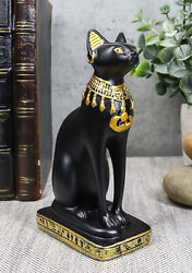 Small Egyptian Classical Goddess Of The Home Bastet Cat Statue 5quot;H Gods Of Egypt