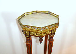 Rare Stand Console France Switzerland About 1860 Marble